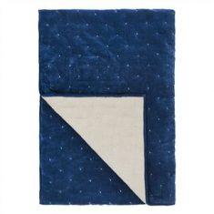 Narzuta Sevanti Indigo Small Quilt Designers Guild 230x230cm