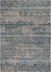 Wielokolorowy Kilimowy Dywan – ZEMMURI BLUE 9110 Louis De Poortere