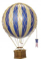 Dekoracyjny balon niebieski Travels Light 30cm