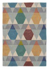 Kolorowy Dywan Geometryczny – ESTELLA VASES 089505 Brink & Campman