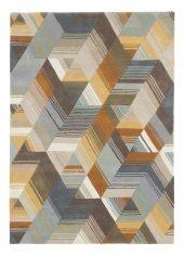 Kolorowy Dywan Geometryczny – ARCCOS OCHRE 040206 Harlequin