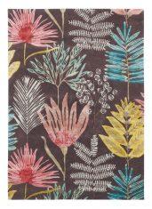 Fioletowy Dywan z Motywem Roślinnym  – YASUNI CERISE 040405 Harlequin