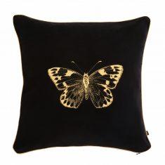 Poduszka dekoracyjna Butterfly Insectarium Black N°3 Maja Laptos Studio 45x45cm
