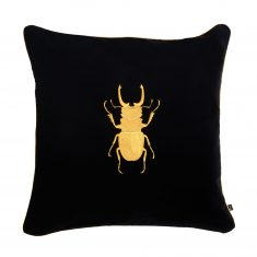 Poduszka dekoracyjna Beetle Insectarium Black N°5 Maja Laptos Studio 45x45cm