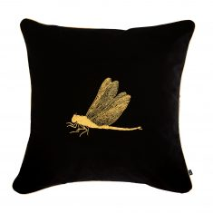 Poduszka dekoracyjna Dragonfly Insectarium Black N°7 Maja Laptos 45x45cm