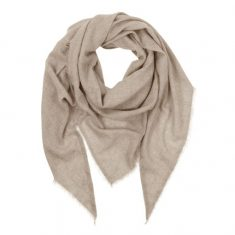Kaszmirowa chusta Cappucino MINOU Cashmere 210x145cm