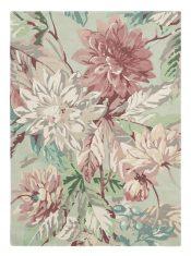 Miętowy Dywan w Kwiaty – DAHLIA ROSEHIP MULBERRY 050607 Sanderson
