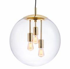 Lampa wisząca Alur L Gold Kaspa 40x203cm