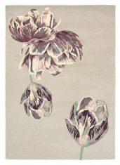 Beżowo Filoletowy Dywan w Kwiaty – TRANQUILITY BEIGE 56001 Ted Baker