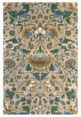 Beżowo Zielony Dywan w Kwiaty – LODDEN MANILLA 27801 Morris & Co.