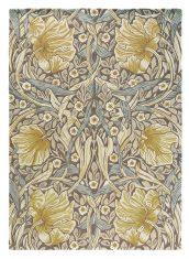 Beżowo Żółty Dywan w Kwiaty – PIMPERNEL BULLRUSH 28808 Morris & Co.