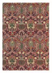 Bordowy Dywan w Kwiaty – GRANADA RED BLACK 27600 Morris & Co.