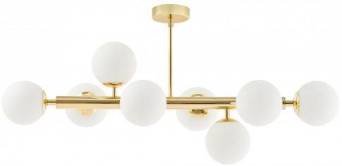 Lampa sufitowa Cumulus Gold /White Kaspa 85x40cm