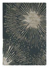 Czarny Dywan w Kwiaty – SHORE TRUFFLE 40605 Harlequin