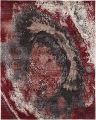 Czerwono Czarny Ekskluzywny Dywan 3D – SEDUCTION 840235 Reza's