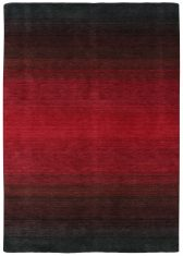 Czerwony Dywan Cieniowany – PANORAMA BLACK RED 7006 Reza's