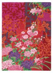 Czerwony Dywan w Kwiaty – YARA GARLAND 133300 Brink & Campman