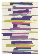 Fioletowo Beżowy Dywan Artystyczny – ZEAL BERRY 43005 Harlequin