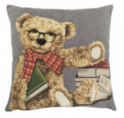 Teddy Bear Book poduszka dekoracyjna 45x45cm