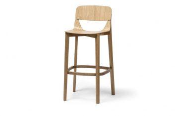 Krzesło barowe Leaf Ton