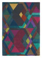 Kolorowy Dywan Geometryczny – MOSAIC DEEP PURPLE 57607 Ted Baker