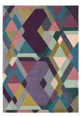 Kolorowy Dywan Geometryczny – MOSAIC LIGHT PURPLE 57605 Ted Baker