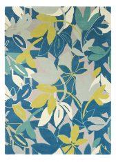 Niebieski Dywan w Kwiaty  – BAJA MARINE 23308 Scion Living