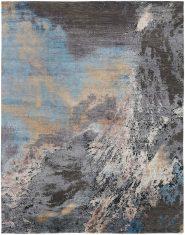 Niebiesko Szary Ekskluzywny Dywan 3D – SEDUCTION 840233 Reza's