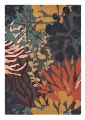 Pomarańczowo Brązowy Dywan w Kwiaty – ESTELLA SUBMARINE 89405 Brink & Campman