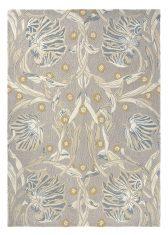 Szaro Beżowy Dywan w Kwiaty – PIMPERNEL LINEN 28701 Morris & Co.