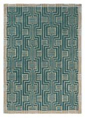 Zielony Dywan Geometryczny – KINMO GREEN 56807 Ted Baker