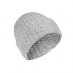 Czapka z kaszmiru Stripe Grey MINOU Cashmere