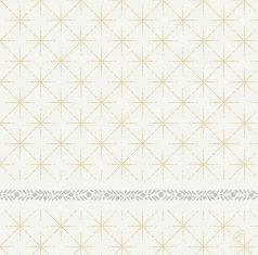 Serwetki świąteczne Glitter White Duni 40x40cm – 60szt