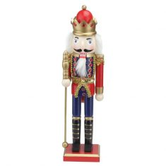 Figurka Nutcracker King Red BBHome 38cm
