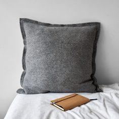 Poduszka Wełniana Grey MOYHA 60x60cm