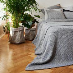 Pled Dziergany Grey MOYHA 210x220cm