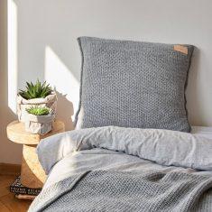 Poduszka Swetrowa Grey MOYHA 60x60cm