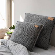 Poduszka Miękka Grey MOYHA 50x50cm