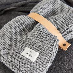 Pled Przytulny Grey MOYHA 130x180cm
