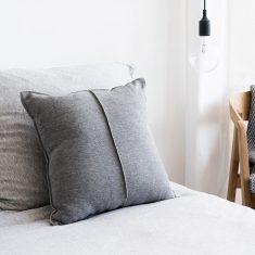 Poduszka bawełniana Favorite Grey MOYHA 45x45cm