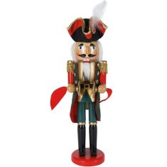 Figurka Nutcracker Soldier Red BBHome 38,5cm