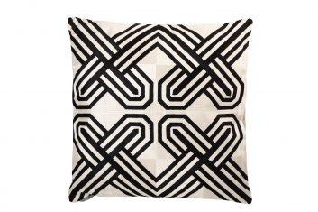 Poduszka dekoracyjna Pearl Black BBHome 50x50cm