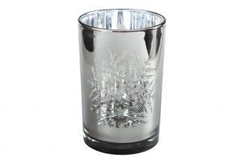 Świecznik Snowflake Silver BBHome