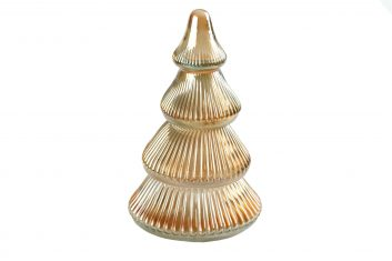 Choinka szklana Xmas Tree BBHome 20x11cm