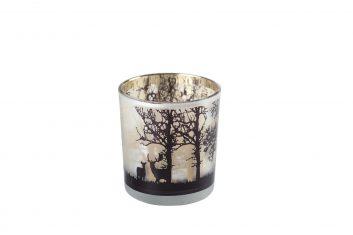 Świecznik na tealighty Deer in forest Xmass bbhome