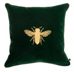 Poduszka dekoracyjna Bee Green Insectarium N°4 Maja Laptos Studio 45x45cm