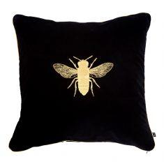 Poduszka dekoracyjna Bee Black Insectarium N°4 Maja Laptos 45x45cm