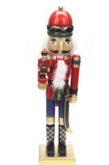 Figurka Nutcracker Soldier with Litleman BBHome 50cm
