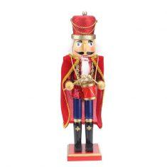 Figurka Nutcracker Drummer Red BBHome 38cm