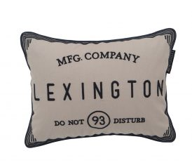 Poduszka Beige Hotel Do Not Disturb Sham Lexington 30x40cm